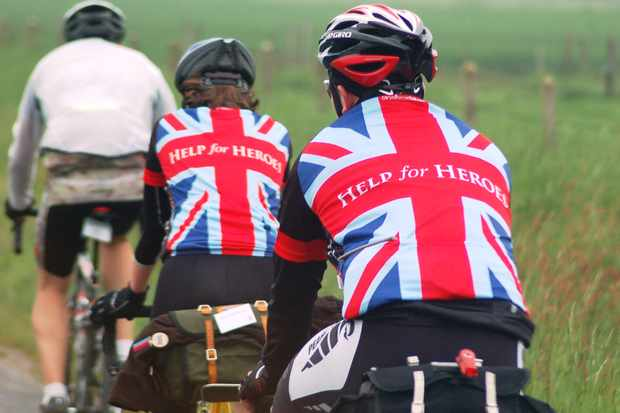 The 2013 Hero Ride is an expansion of the 2008 Big Battlefield Bike Ride, which marked the launch of Help for Heroes