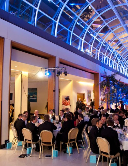 The Champions of CycleSport Dinner took place at the Hurlingham Club in London