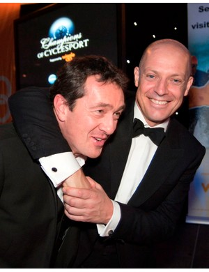 Chris Boardman MBE and Dave Brailsford CBE