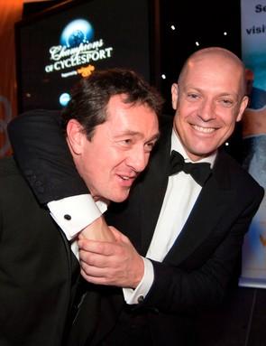 Chris Boardman MBE and Dave Brailsford CBE