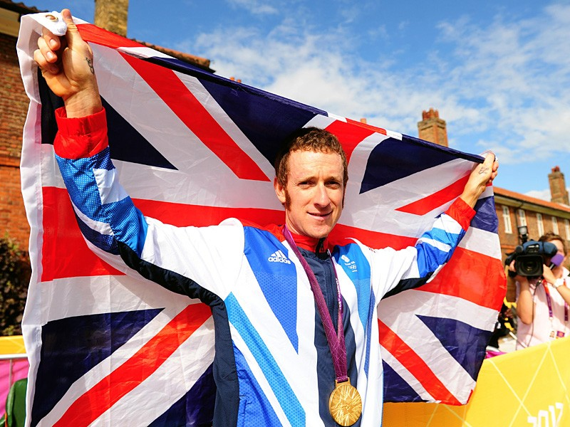 Bradley Wiggins won both the Tour de France and an Olympic gold medal in 2012