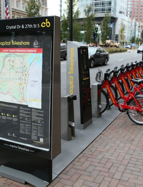 Each of the 1,670 bikes gets used multiple times a day
