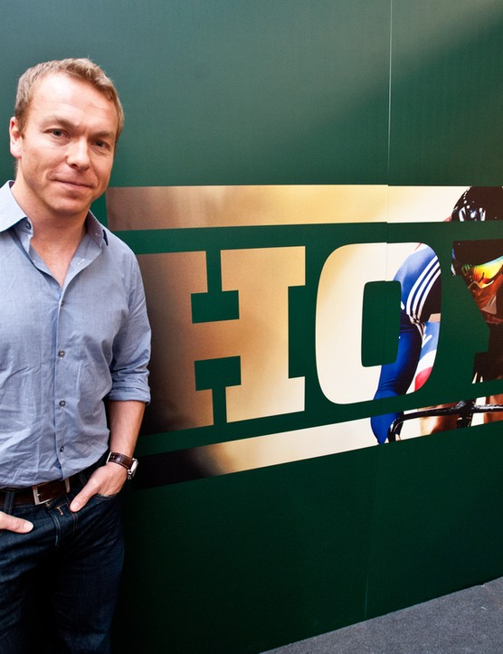Chris Hoy has partnered with Evans Cycles to develop and distribute his range of HOY bikes