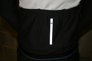Reflective detailing on one of the Long Sleeves Jersey Comp's back pockets