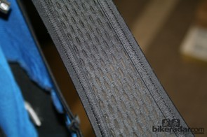 Meshed straps on the Bib Man Tight Winter Comp longs