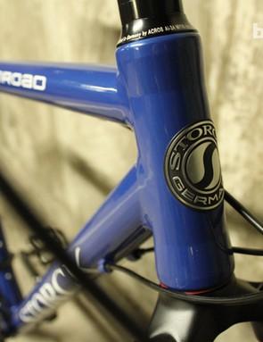 No mistaking where these bikes originate