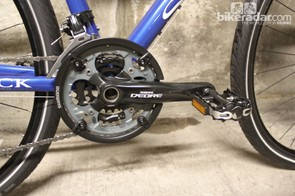 The Multiroad comes specced with Shimano Deore