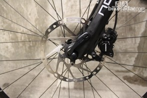 If you're commuting in serious rain you might be glad to hear the Multiroad features disc brakes