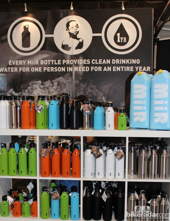 Miir funds clean-water charity with its water-bottle sales