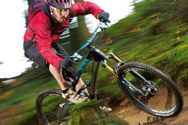 The Yeti SB66 is best suited to all-day romps rather than mini DH blasts