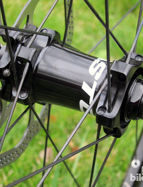Easton doesn't bill the EA90 XD as being compatible with 15mm thru-axle forks but the M1 hub is used elsewhere in the MTB range in both thru-axle and quick-release fitments, so it should be convertible