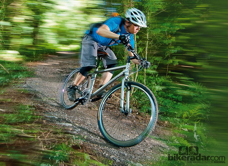 The Cyclone is suited to urban workhorse duties or easy trails