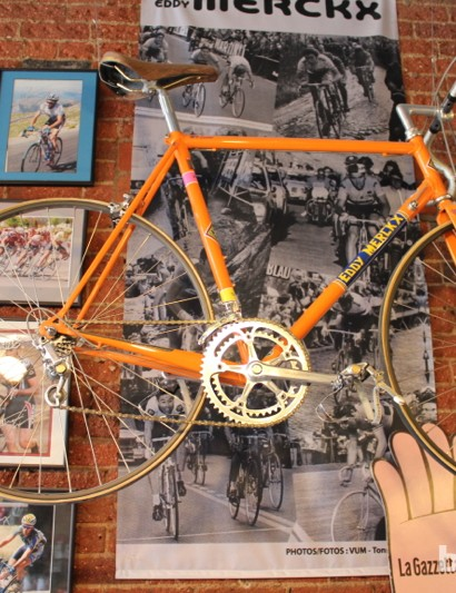 And what componentry did Eddy Merckx ride?
