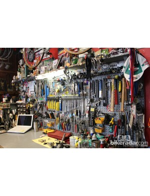 Many shops sell news parts. Vecchio's sells its expert service
