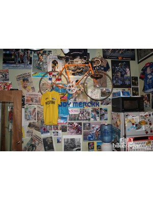 Cycling's past is alive and well inside Vecchio's