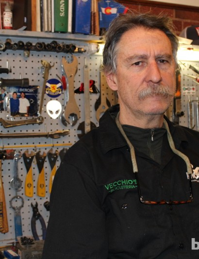 Gruffness is just part of owner Peter Chisolm's charm