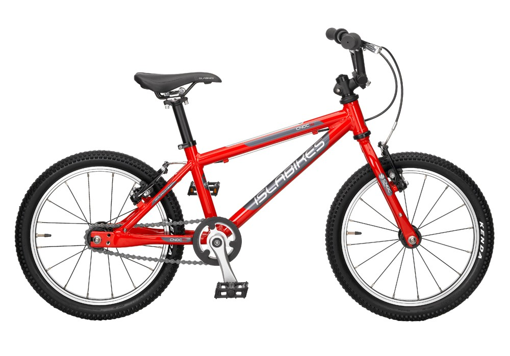 The Cnoc 16 is aimed as a first bike for children aged four and up