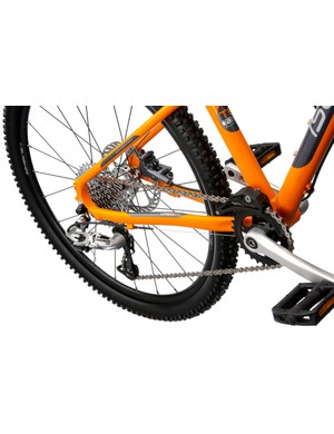 Young mountain bikers should have more than enough gear range to play with