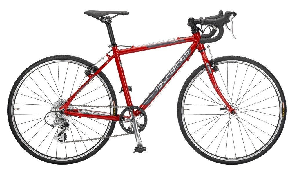The Lauth 24, 26 (pictured) and 700 bikes cater for children aged eight and over who want to get into road cycling or cyclocross