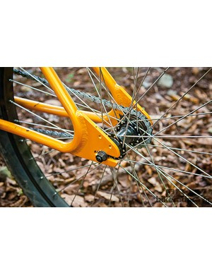 The Humu is really easily  adapted to singlespeed