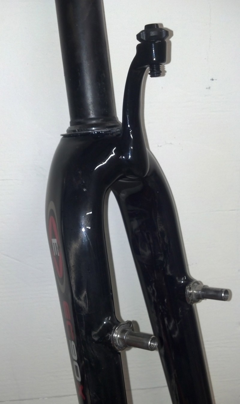 Ruckus Components can add on things like fender eyelets or this high housing stop with a barrel adjuster