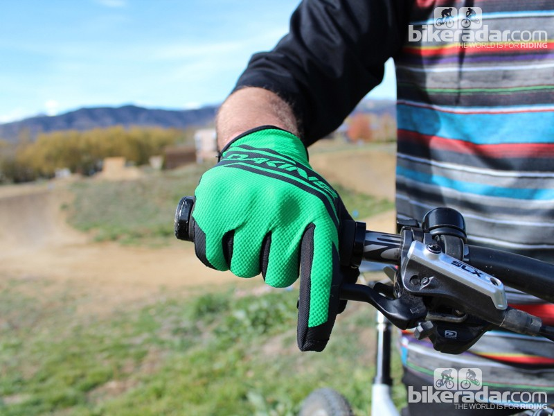 The fingertips of the Concept gloves are touchscreen compatible