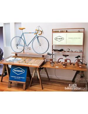 The Patebury stand at the Australian Custom Bicycle Show