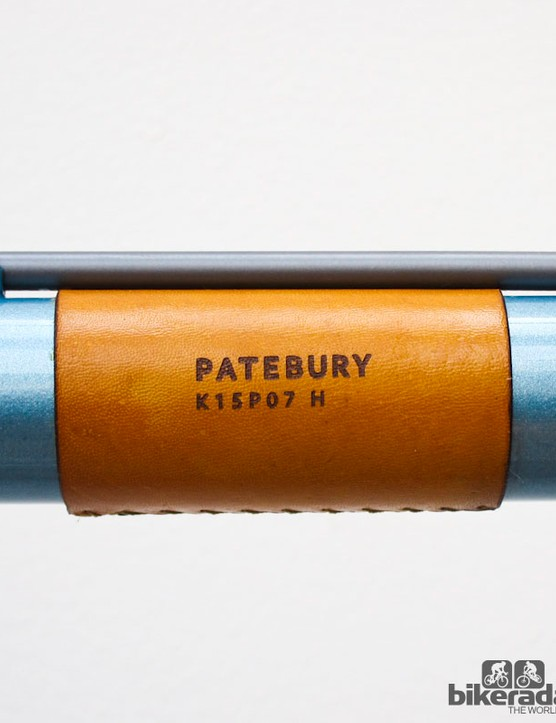 Patebury leatherwear leant a classy touch to a number of frames