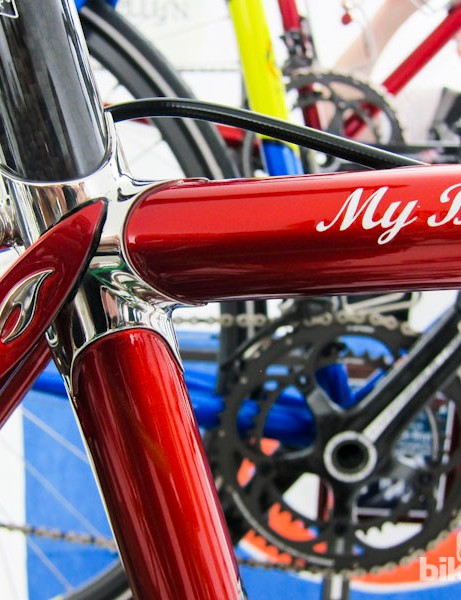 The Llewellyn selection included a number of bikes from builder Darrell McCulloch's personal collection