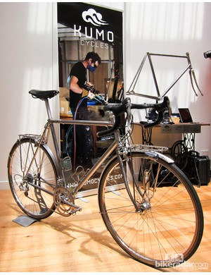 A touring bike from Kumo Cycles