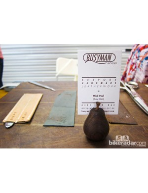 Busyman Bicycles exhibit their tools of the trade