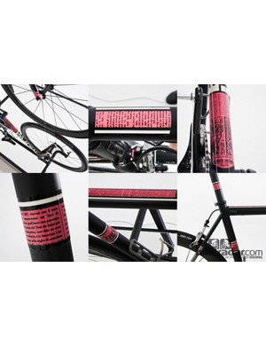 A collage of the Baum/Rapha collaboration