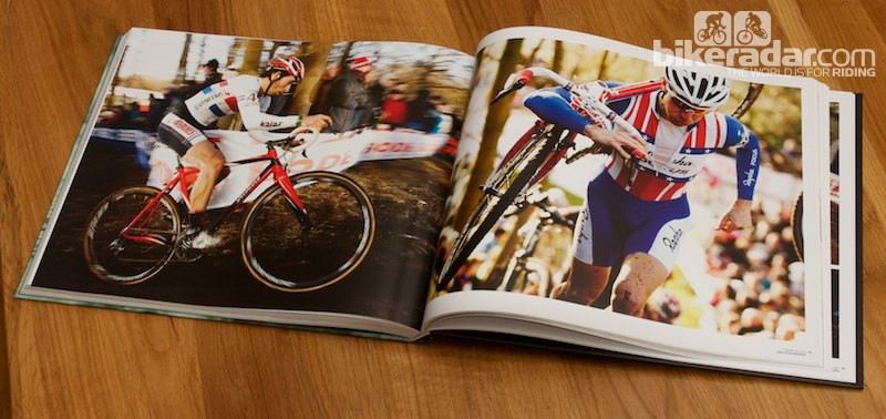 While the book includes informative text, the pictures speak for themselves in many cases