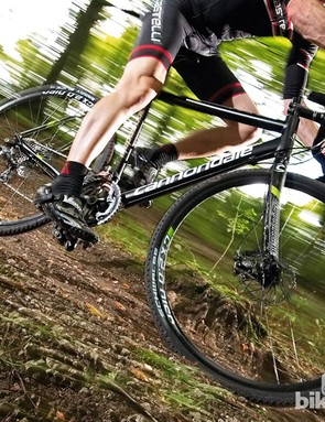 The CAADX Disc Ultegra shows off Cannondale's cyclocross history and experience