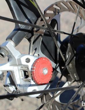 Avid's BB7 Road disc calipers provide great modulation