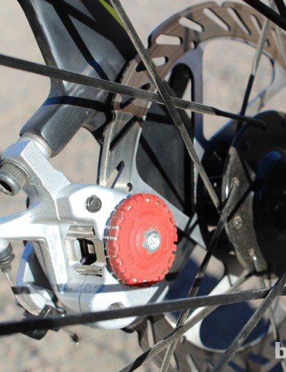 Avid's BB7 Road disc calipers provide great modulation