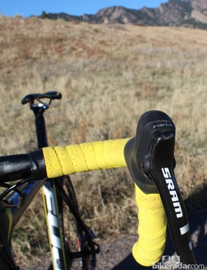 On a carbon frame, SRAM Force provides good value at this price point