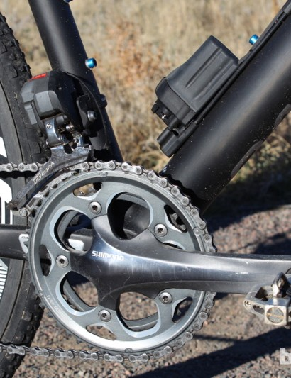 Shimano's electronic Ultegra Di2 provides flawless shifting