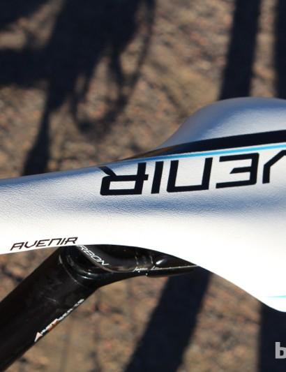 The Avenir saddle seems a bit low-end for a US$6,000 bike