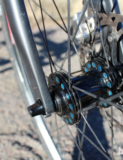 The Cole wheels feature stiff, direct-pull spokes with nice detailing at the hubs. The bearings feel great, too