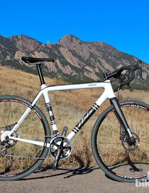 The 2012 Ibis Hakkalügi Disc is available as a frameset or as a complete bike in two builds