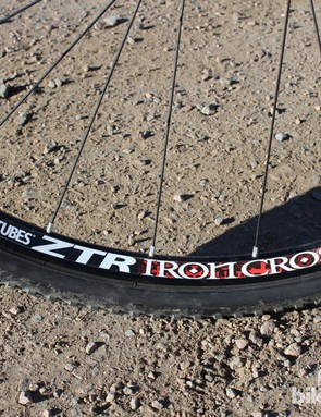 Stan's NoTubes XTR IronCross tubeless wheels are a great option for 'cross