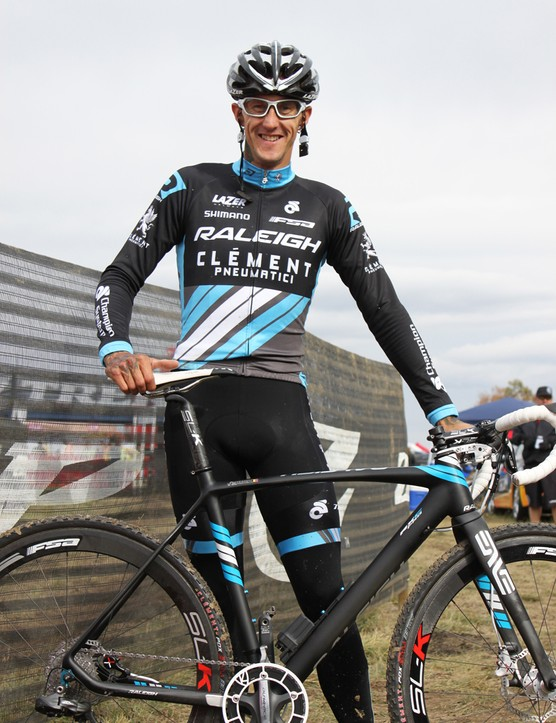 This is the Belgian's second season of racing in the United States, and his first aboard a Raleigh