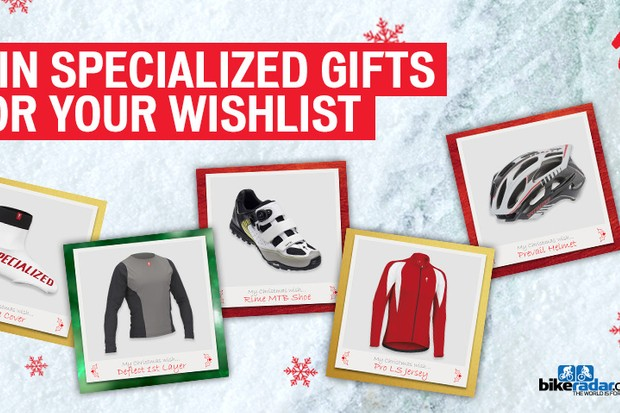Win Specialized gifts for your wishlist