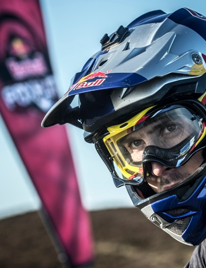 Gee Atherton, star of the Red Bull Foxhunt 2012