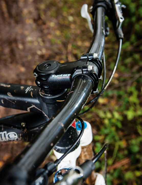 Syntace's bar and stem is beautifully made, light and tough