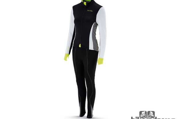 Le Col ladies' tights and B3 jacket