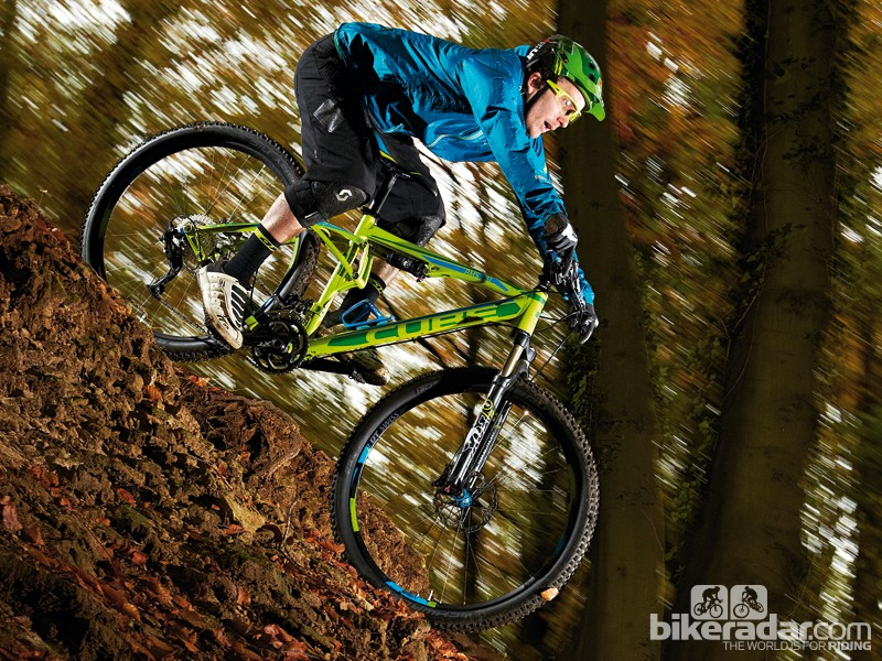 The Cube AMS 120 Race 29 is easy to handle