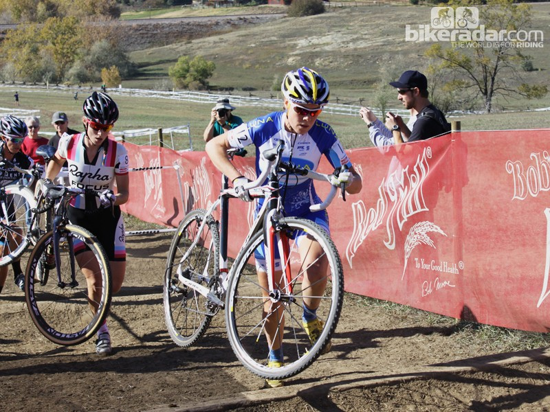 Gould headed into the 2012/2013 cyclocross season with some big wins on her mountain bike