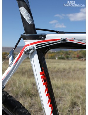 The Terra has a very clean-looking integrated seatpost clamp